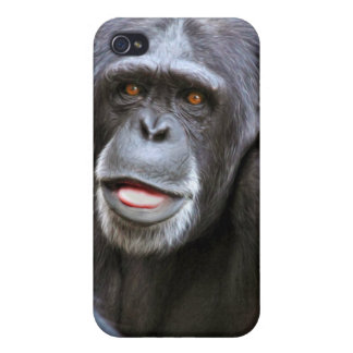 Chimpanzee Photo Case For iPhone 4