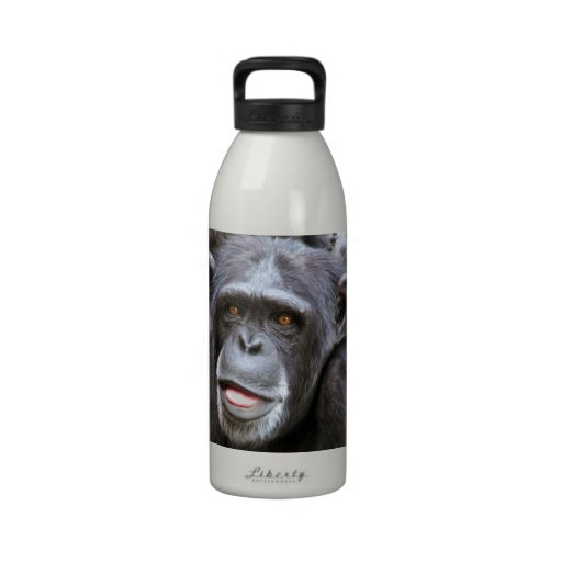 Chimpanzee Photo Drinking Bottle