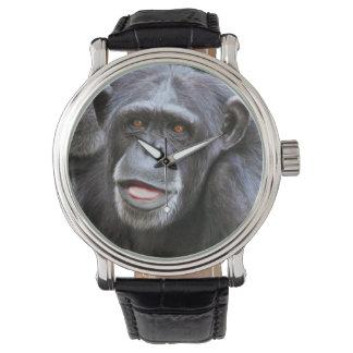 Chimpanzee Photo Wrist Watch