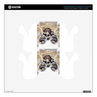 Chimpanzee PS3 Controller Skins