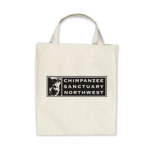 Chimpanzee Sanctuary Northwest Classic Logo Tote Tote Bag