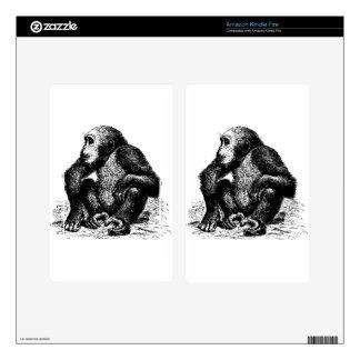 chimpanzee skins for kindle fire