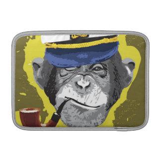 Chimpanzee Smoking Pipe Sleeve For MacBook Air