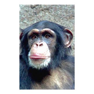 Chimpanzee Stationery