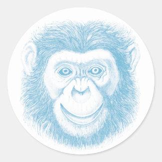 Chimpanzee Stickers