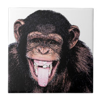 Chimpanzee Tile