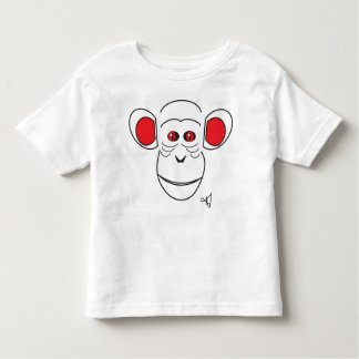 chimpanzee toddler t-shirt