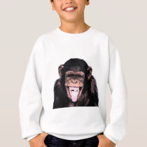 Chimpanzee Tongue Sweatshirt