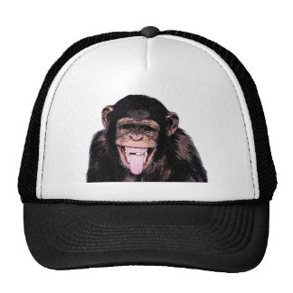 Chimpanzee Tongue Trucker Hat