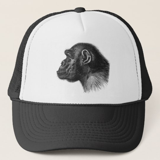 Chimpanzee Trucker Hat