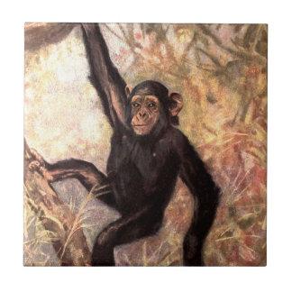 chimpanzeehangingintree002_original ceramic tiles