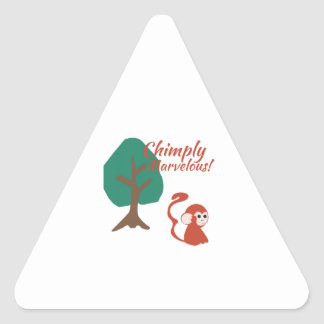 Chimply Marvelous Triangle Sticker