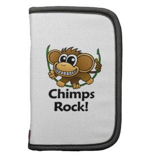 Chimps Rock Folio Planners