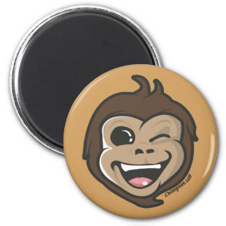 Chimpsee  Cute Monkey Adorable Face Magnet