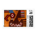 chimu pelican postage stamp
