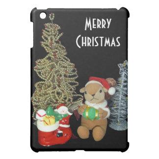 Chimunk's Christmas , squirrel , シマリスのクリスマス iPad Mini Covers