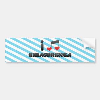 Chimurenga Car Bumper Sticker