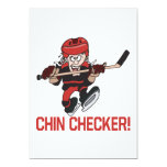 """Chin Checker 5"""" X 7"""" Invitation Card"""