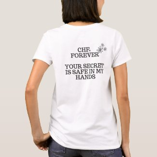 Chin Hair Friends Forever! T-Shirt