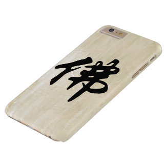 Chin. Sign / Character BUDDHA - flat black Barely There iPhone 6 Plus Case