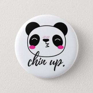 Chin Up Pinback Button