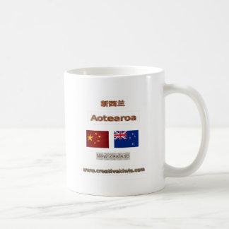 China, 中国, 新西兰 mug