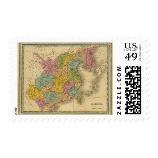 China 10 postage stamp