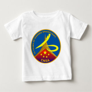 China 10 years of Manned Spaceflight Tee Shirt
