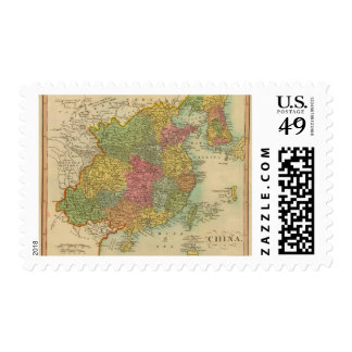 China 11 postage stamps