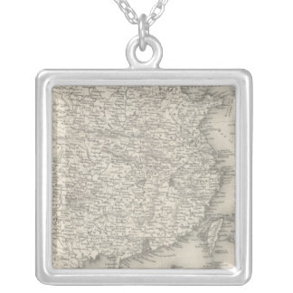 China 13 silver plated necklace