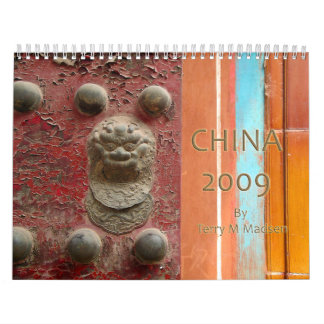 China 2009 calendars