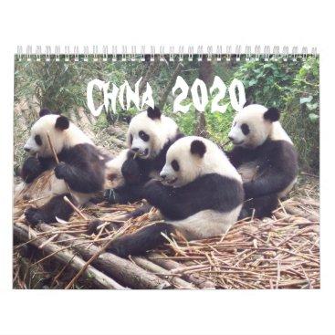 China - 2020 Calendar