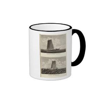 China 3 ringer coffee mug