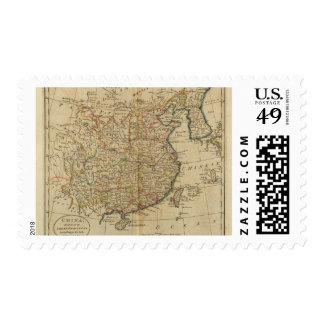 China 5 postage stamp