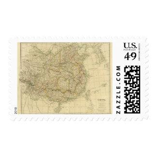 China 6 postage stamp