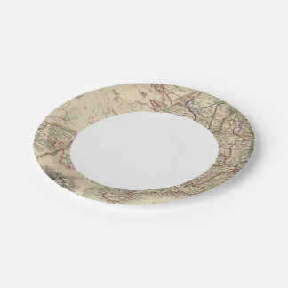 China And Burmah 7 Inch Paper Plate
