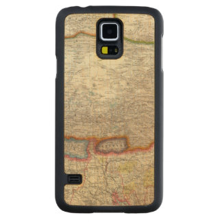 China and Tibet Carved® Maple Galaxy S5 Slim Case