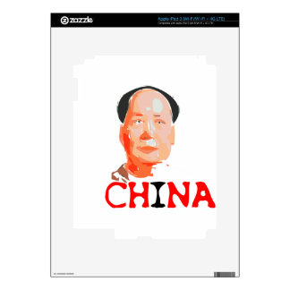 China - art, history, - made in China iPad 3 Decals