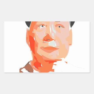 China - art, history, - made in China Rectangular Sticker