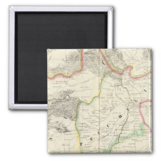 China, Asia 59 2 Inch Square Magnet