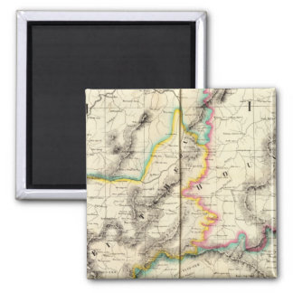 China, Asia 86 2 Inch Square Magnet