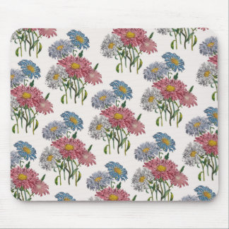 China Asters Mouse Pad