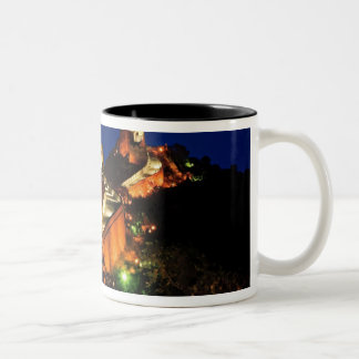 China, Badaling, Great Wall, view of Two-Tone Coffee Mug