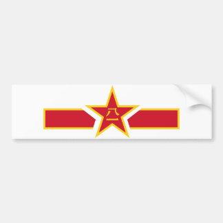China Bar Bumper Sticker