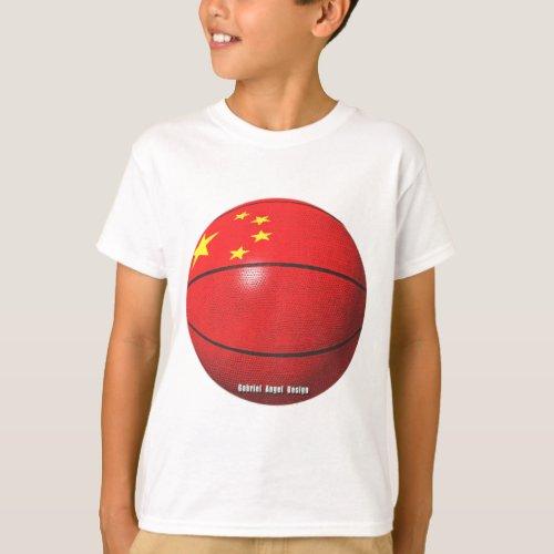 China Basketball T_Shirt