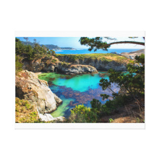 China Beach Stretched Canvas Print