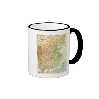 China Beijing Region Ringer Coffee Mug