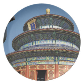 China, Beijing, Temple of Heaven, Chinese Urn in Plate