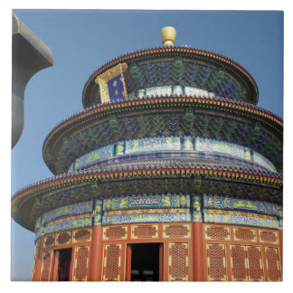 China, Beijing, Temple of Heaven, Chinese Urn in Tile