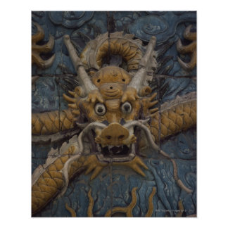 China, Beijing, The Forbidden City, Nine Dragon Poster